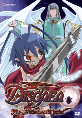 Disgaea Vol 3 The Netherworld War Anime Dvd Review